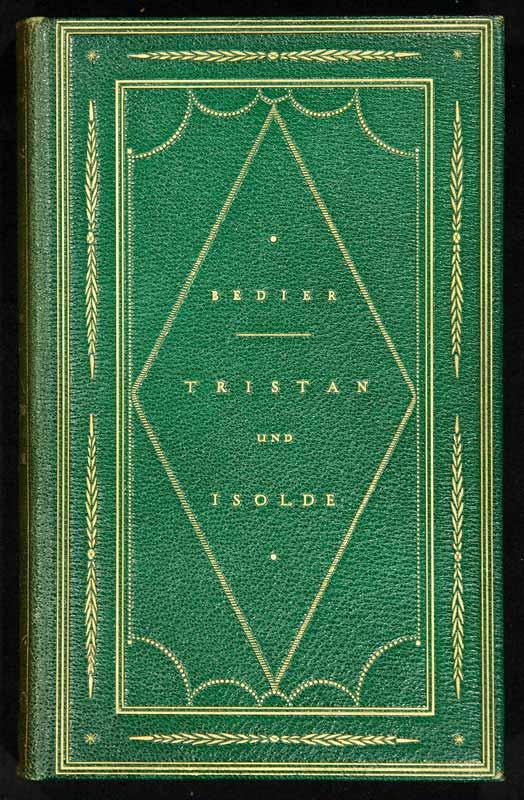 Bédier, Joseph: -Der Roman von Tristan und Isolde.