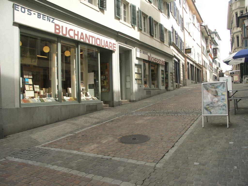 Antiquariat - EOS Buchantiquariat Benz - Zürich - Schweiz