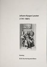 Katalog Johann Kaspar Lavater