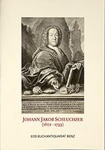Katalog Johann Jakob Scheuchzer