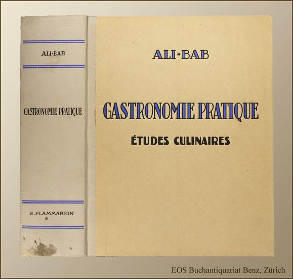Ali-Bab; -Gastronomie pratique.