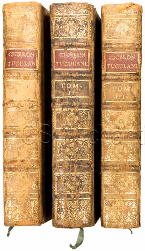 Cicero, Marcus Tullius: -Tusculanes de Cicéron.