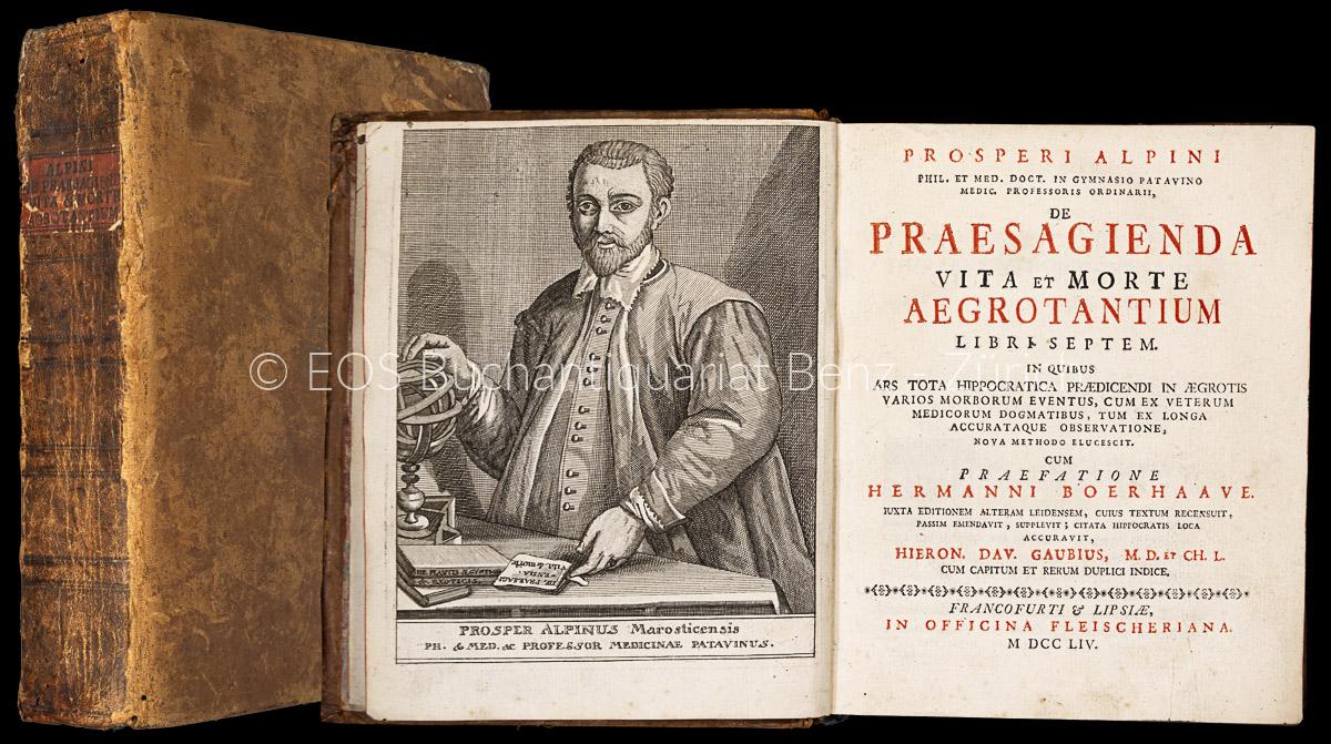 Alpino, Prospero: -De praesagienda vita et morte aegrotantium libri septem.