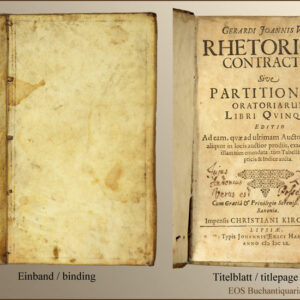 Voss, Gerhard Johannes: -Rhetorices contractae,