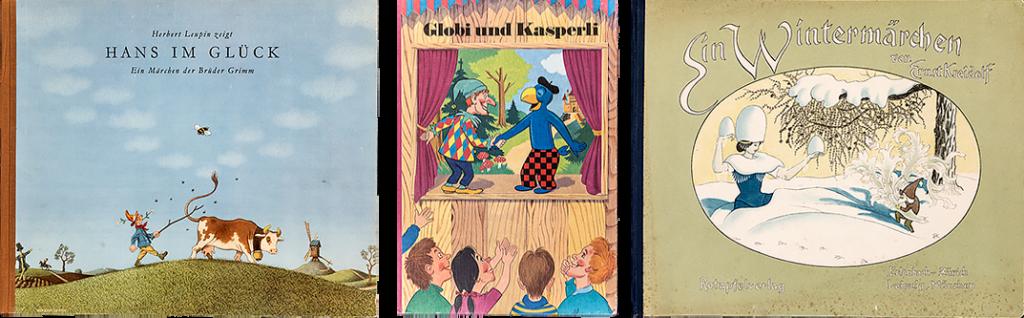 Alte Kinderbücher – Klassiker, wie Globibücher, Märchenbücher von Herbert Leupin und Ernst Kreidolf im EOS Buchantiquariat Benz in Zürich