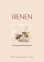 Antiquariats-Katalog Bienen