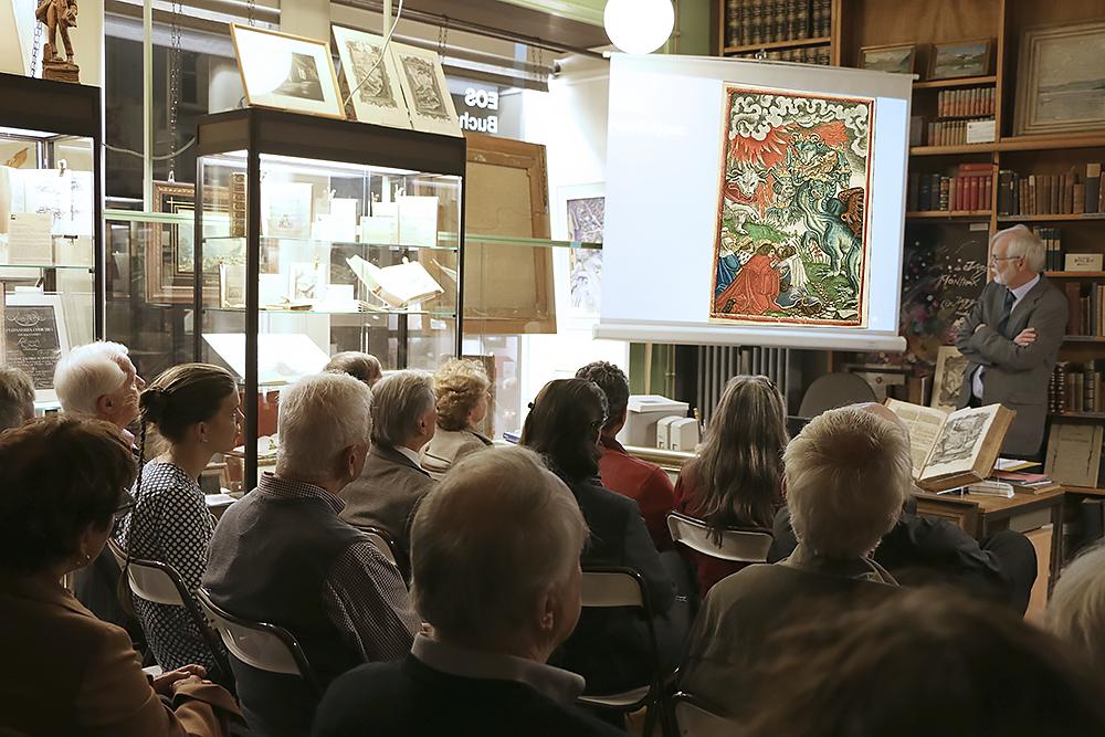 Buchkultur in Zürich. Eine Veranstaltung der Zürcher Antiquariate