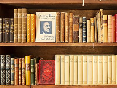 Literatur Antiquariat - EOS Buchantiquariat Benz - Zürich