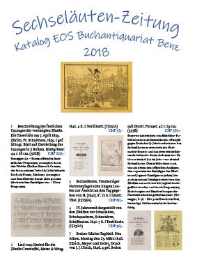 Antiquariats-Katalog Sechseläuten
